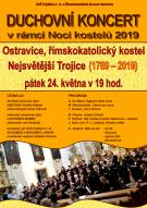 Duchovní koncert v rámci Noci kostelů 2019