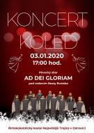 Koncert koled v Římskokatolickém kostele Nejsvětější Trojice v Ostravici 1